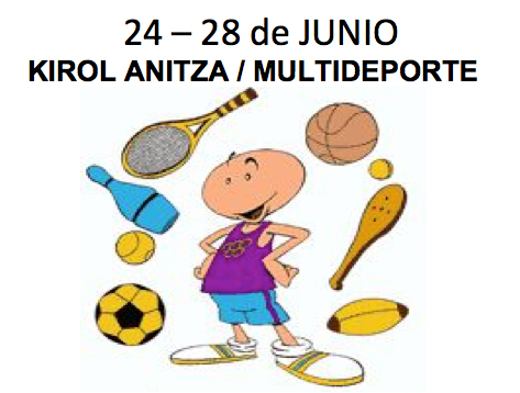 24 – 28 Junio – Multideporte