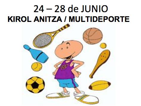 24 – 28 Junio – Multideporte