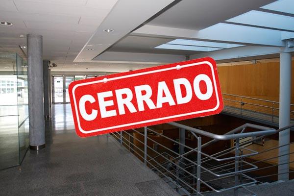 El 8 de Septiembre la instalación permanecerá cerrada